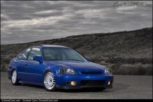 1998 Honda Civic Si Coupe Custom - http://sickestcars.com/2013/05/23/1998-honda-civic-si-coupe-custom/