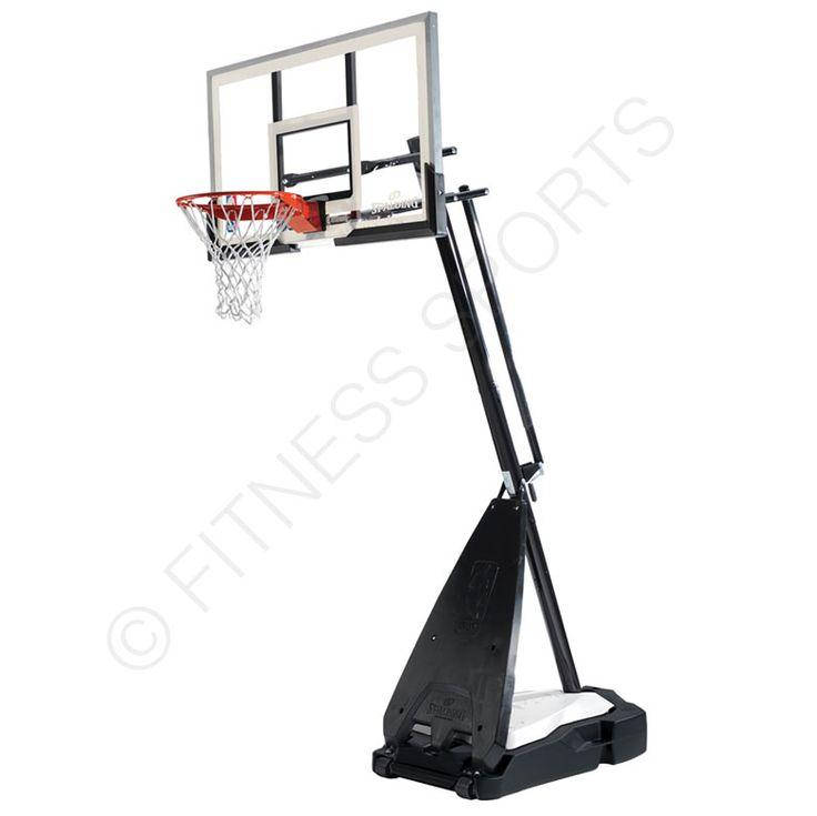 Spalding Ultimate Hybrid basketball system 8ft-10ft