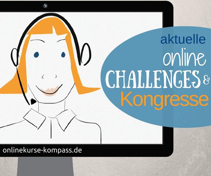 aktuelle Online Challenges: eine Übersicht kostenloser Challenges und Online Kongresse, die jetzt laufen oder demnächst angeboten werden.