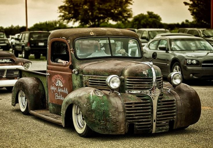rust is the new red in classic cars