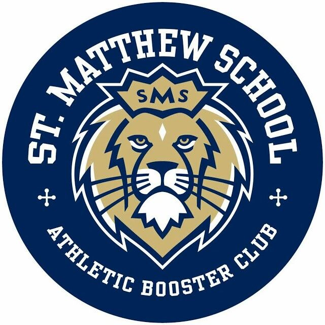 Window decal for St. Matthew Catholic School