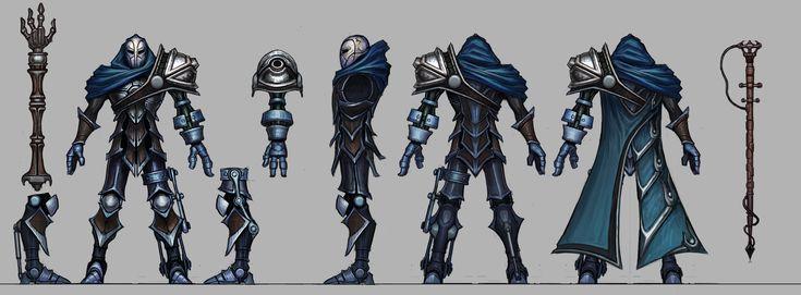League Of Legends Character Design Contest : Viktor character design designs pinterest