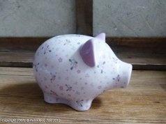 Coffret tirelire Cochon, décoration cosy, Amadeus Déco