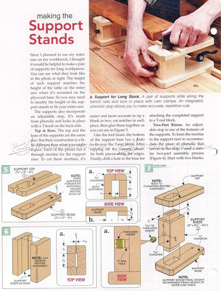 DIY Bench Rail System - Workshop Solutions