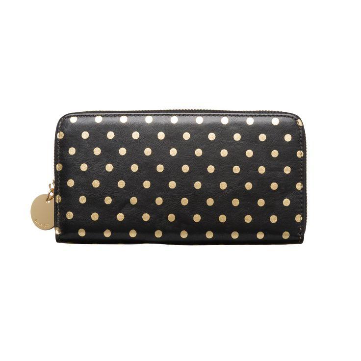 I love the Deux Lux Gigi Zip Wallet from LittleBlackBag