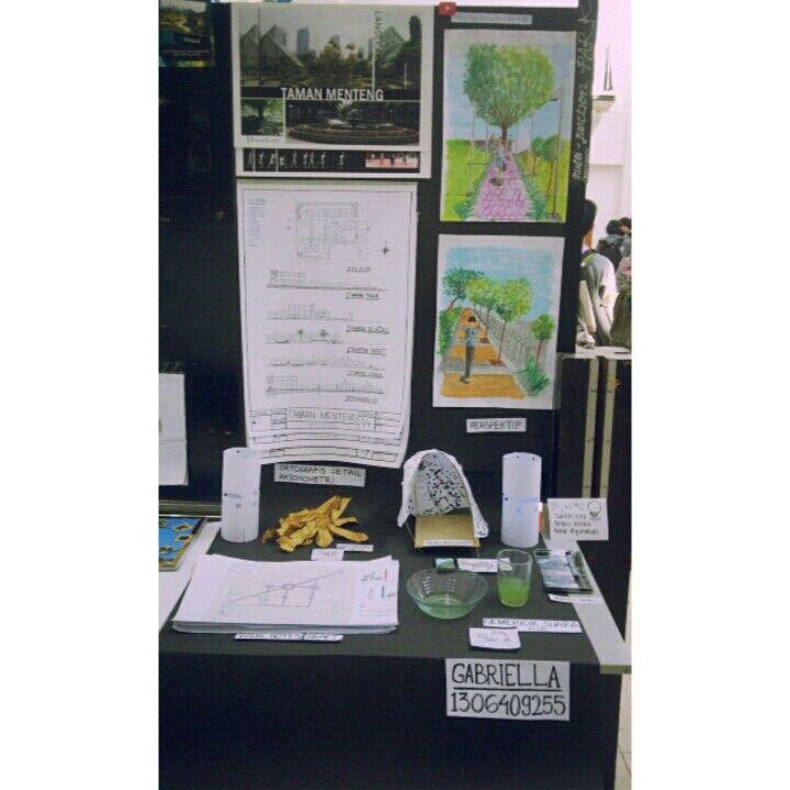 UAS Tekomars 3 Juni 2014 - Display Taman Menteng