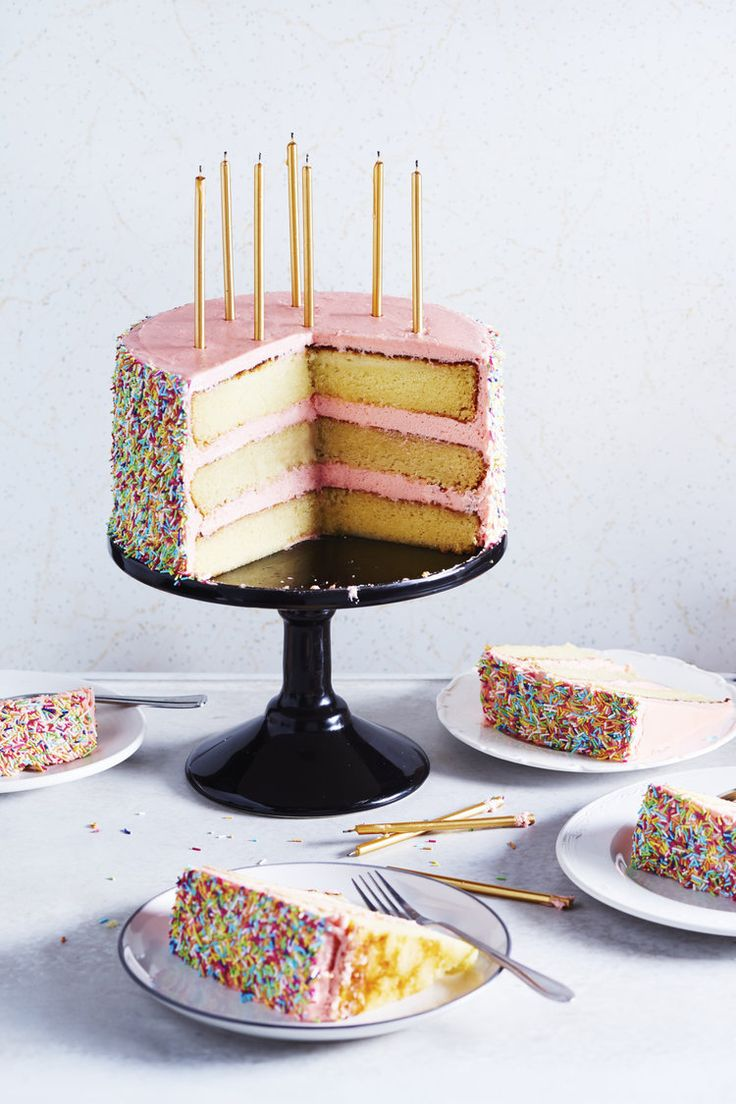 Butter & Scotch's Birthday Cake | The Desserts of New York cookbook