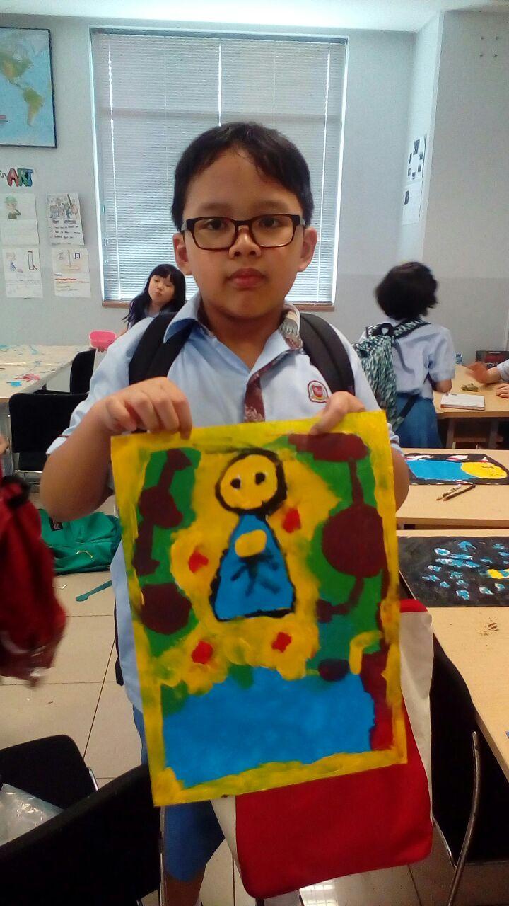 Rafi - Joan Miro - Roll a Miro Game @Binus International School Simprug