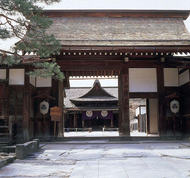 飛騨の国は幕府の直轄地だったから、代官、郡代がこれを支配した。陣屋には役所、大広間、役宅、吟味所、白洲などがあった。その他、年貢米を保管した米蔵も展示してある。