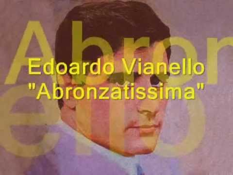 ABBRONZATISSIMA Edoardo Vianello Lyric (Learn italian singing)