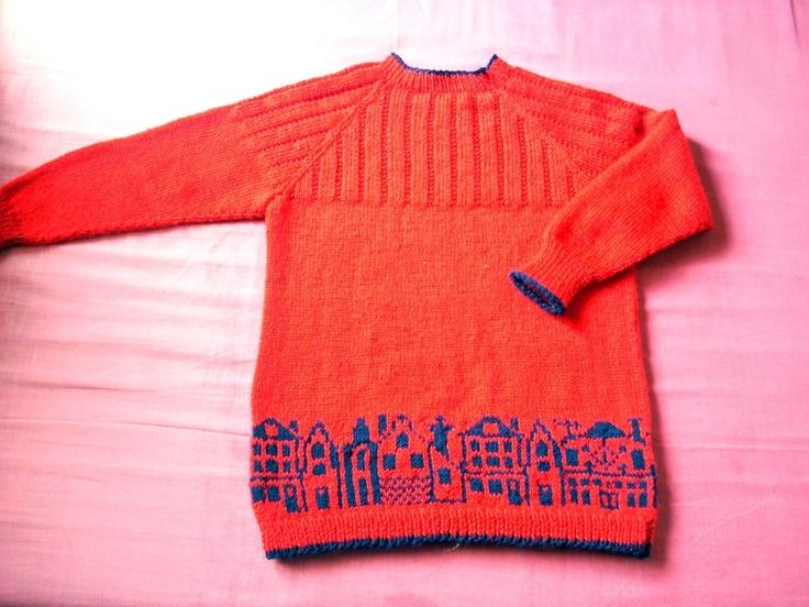 City Skyline Sweater