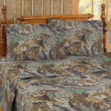 """Cabela's: Kimlor Mills Flannel Sheet Sets """"Advantage"""""""