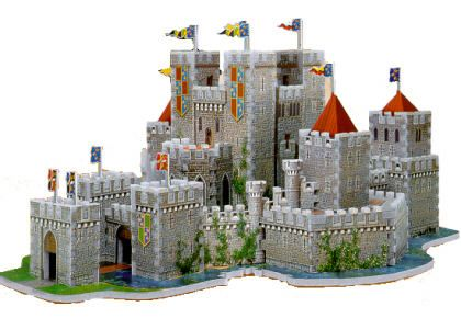 Camelot 3D Jigsaw Puzzle (With images) | Jigsaw puzzles ...