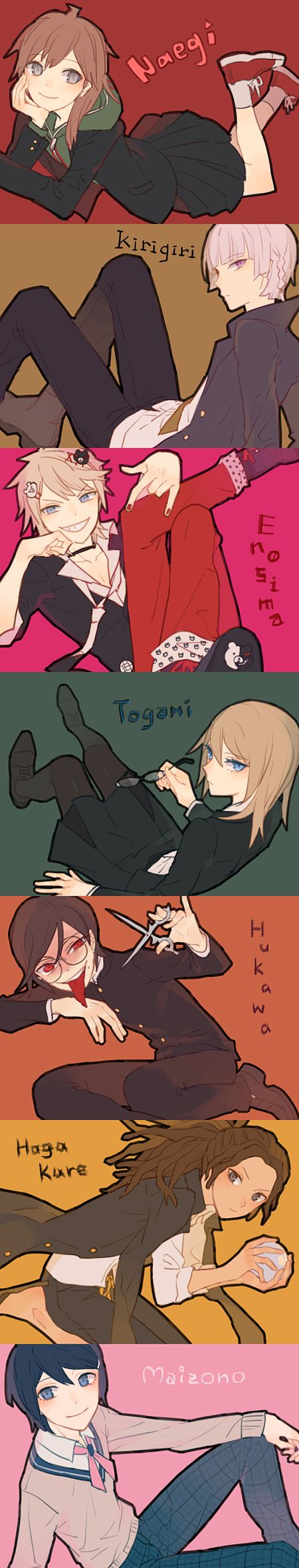 I adopted togami<<< Well, if we're playing THAT game, I'll adopt my own Yandere Killer! I'll adopt Fukawa!