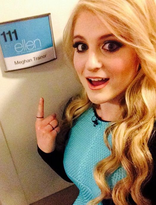 "Meghan Trainor Performs And Gets A Surprise On ""The Ellen Show"""