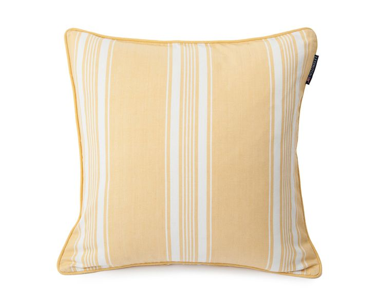 Lexington Cushion Ticking Striped 50 x 50 cm yellow