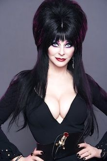 Cassandra probably wasn't thinking that Elvira would turn into this iconic character, but she did and Cassandra took full advantage of it. Description from lowryagency.wordpress.com. I searched for this on bing.com/images