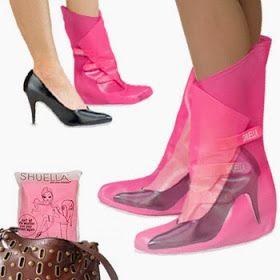 Ser Femeninas: Paraguas para tu zapatos de tacon!