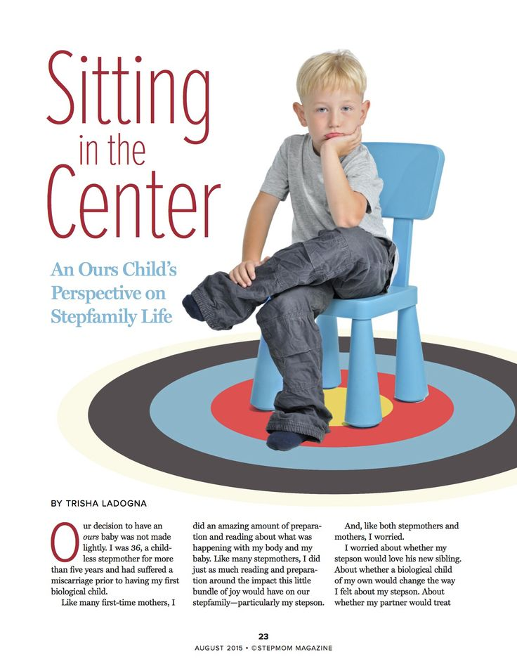 Check out our article in this month's issue of StepMom Magazine. A topic very close to our hearts - the realities of stepfamily life for all the 'ours' children out there. Grab your copy at www.stepmommag.com