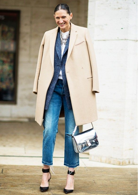 Jenna Lyons' Complete Guide to Denim via @WhoWhatWear: