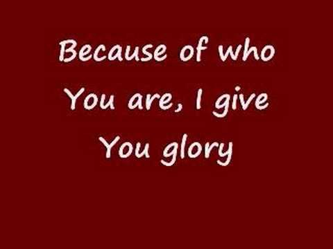 It's impossible to clean house, when this song comes on, without stopping and joining in ~ Because of Who you Are-Vicki Yohe