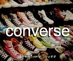 Converse in every colour :)