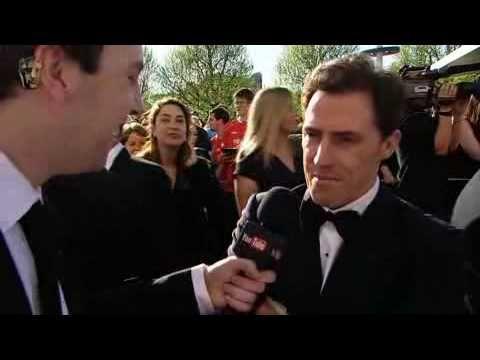 Rob Brydon on the BAFTA Red Carpet