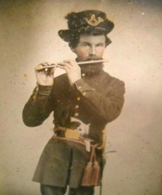 Union Infantryman with fife