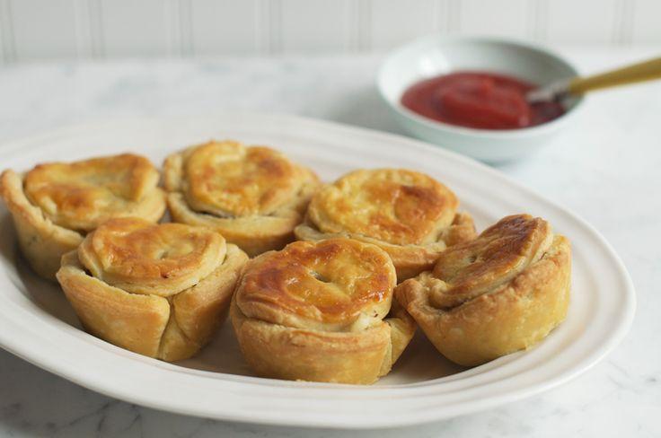 Beef, Onion & Guinness Pie. Recipe from Gary Mehigan of MasterChef Australia