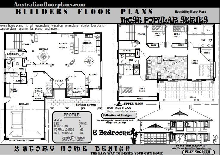 6 bedroom house plans uk
