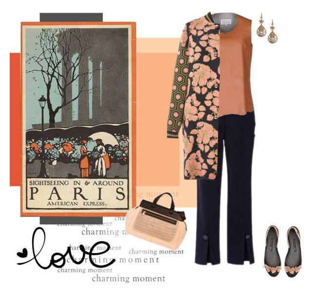 """Paris"" by xime-pena ❤ liked on Polyvore featuring Maison Margiela, Tak.Ori and Alberta Ferretti"