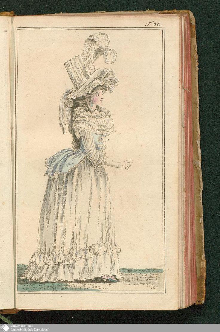 Journal des Luxus und der Moden, Tafel 20, July 1788.