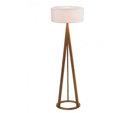Jacob Oak Floor Lamp,Lighting,Beacon Lighting