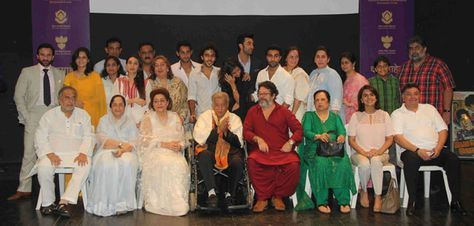 The Kapoor family is one of the most illustrious in Hindi cinema. Here are some members of the multigenerational filmi family. Photo taken at presentation of the Dadasaheb Phalke Award to Shashi Kapoor. He is the third Kapoor to receive the award after his father, Prithviraj Kapoor, and brother, Raj Kapoor.