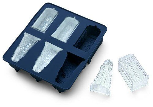 chain supply Doctor Who Silicone Ice Cube Tray Tardis & Daleks