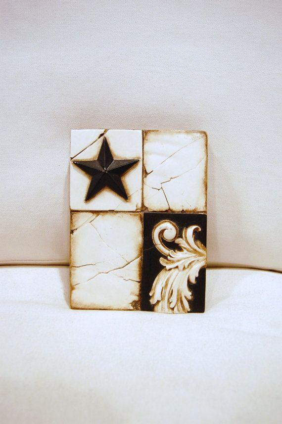 Sid Dickens Retired Tile Midnight Star T164 by 5thstreetbazaar, 159.00