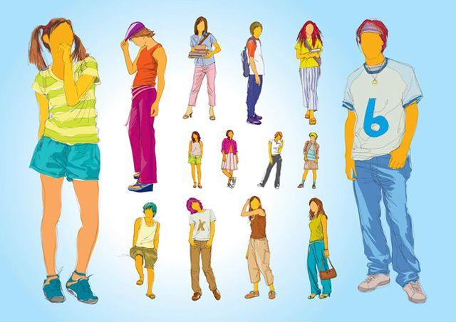 Teenager Illustrations