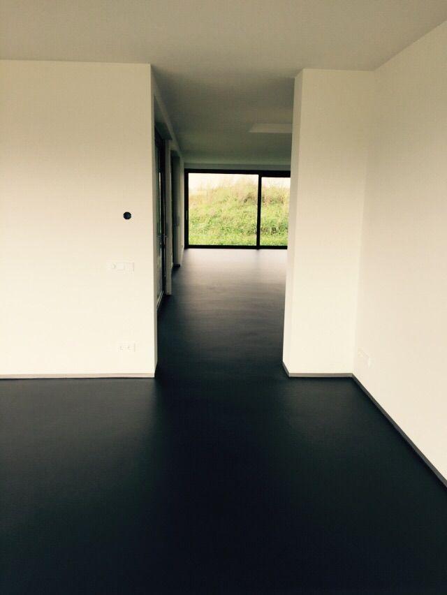 1000 images about morefloors vloeren breda semi granito vloer aangebracht in moderne woning - Moderne betegelde vloer ...