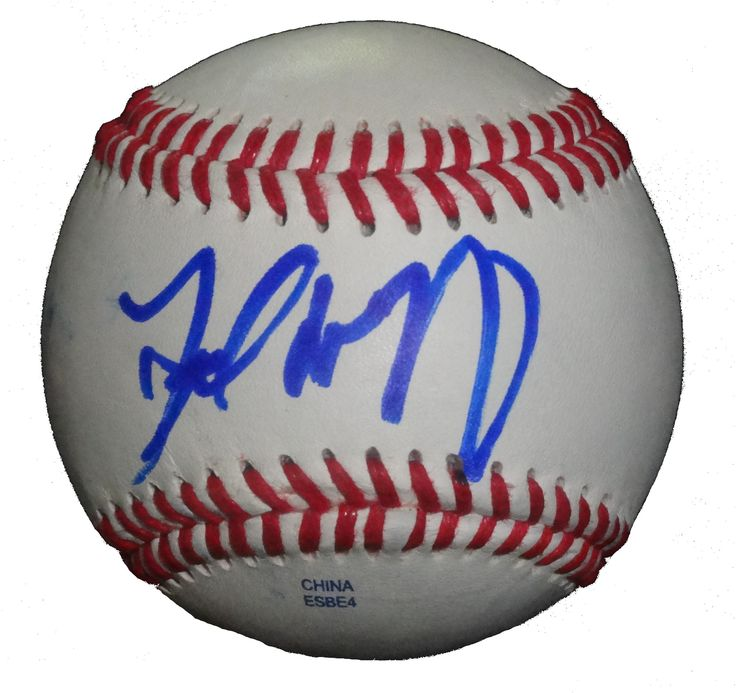 Atlanta Braves Fred McGriff signed Rawlings ROLB leather Baseball w/ proof photo. Proof photo of Fred signing will be included with your purchase along with a COA issued from Southwestconnection-Memorabilia, guaranteeing the item to pass authentication services from PSA/DNA or JSA. Free USPS shipping. www.AutographedwithProof.com is your one stop for autographed collectibles from Atlanta sports teams. Check back with us often, as we are always obtaining new items.