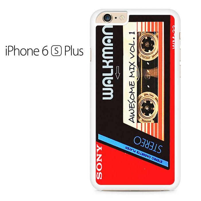 Walkman Awesome Mix Vol 1 Red Tape Iphone 6 Plus Iphone 6S Plus Case