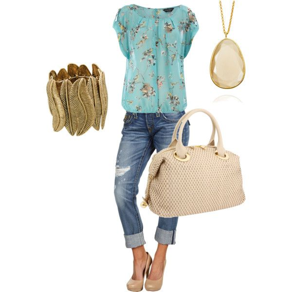 Love the top: Bracelet, Idea, Fashion Style, Clothes, Color, Cute Outfits, Spring Outfit, Dressy Casual Love, Shirt