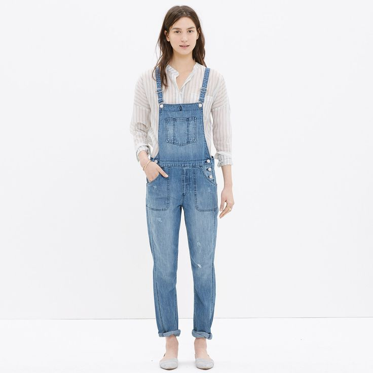 Park Overalls in Dixon Wash : OVERALLS & JUMPSUITS | Madewell