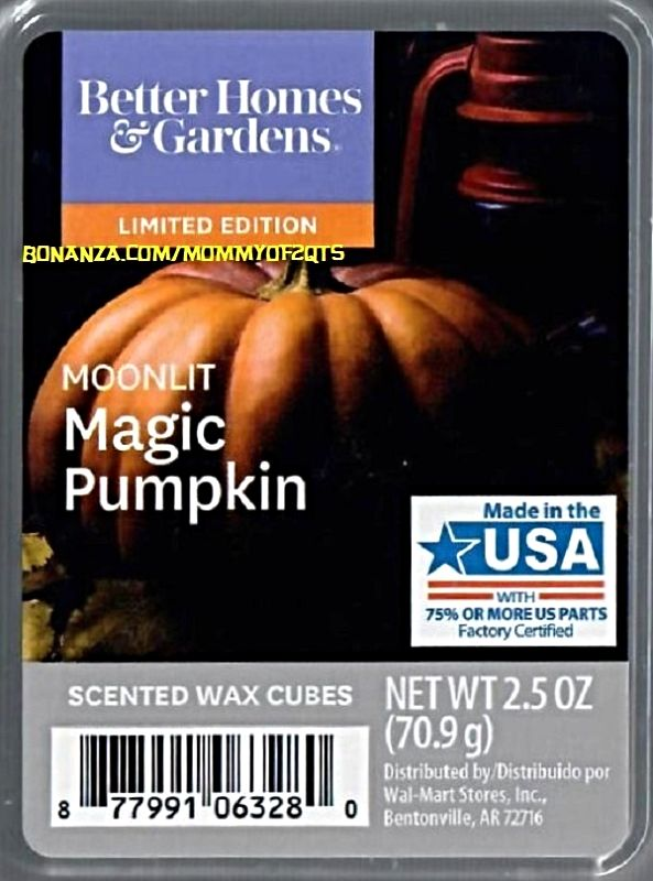 excellent better homes and gardens scented wax cubes. Moonlit Magic Pumpkin Better Homes and Gardens Scented Wax Cubes Melts 185 best ScentSationals  images on