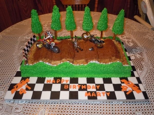 Cocoa Pebbles Birthday Cake