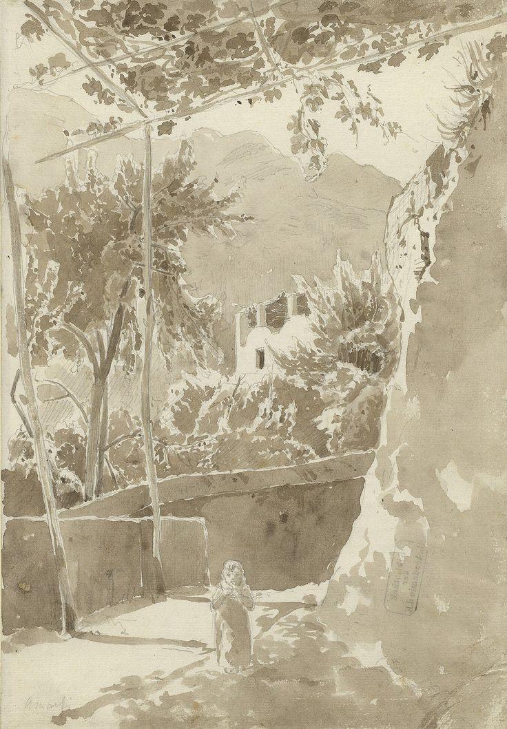 Das Amalfi Skizzenbuch von Carl Blechen - Kunstsammlung der Akademie der Kuenste Berlin - Carl Blechen (1798 – 1840)