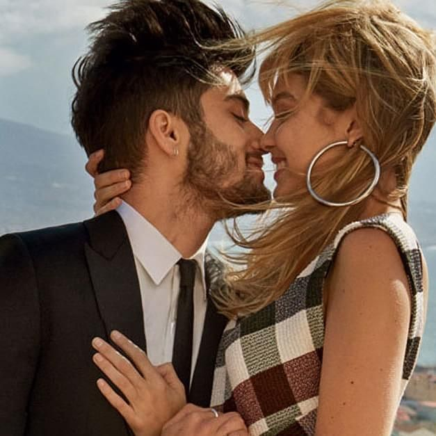 Zayn Malik Goes Shirtless, Makes Out With Gigi Hadid in Bed in Vogue Magazine