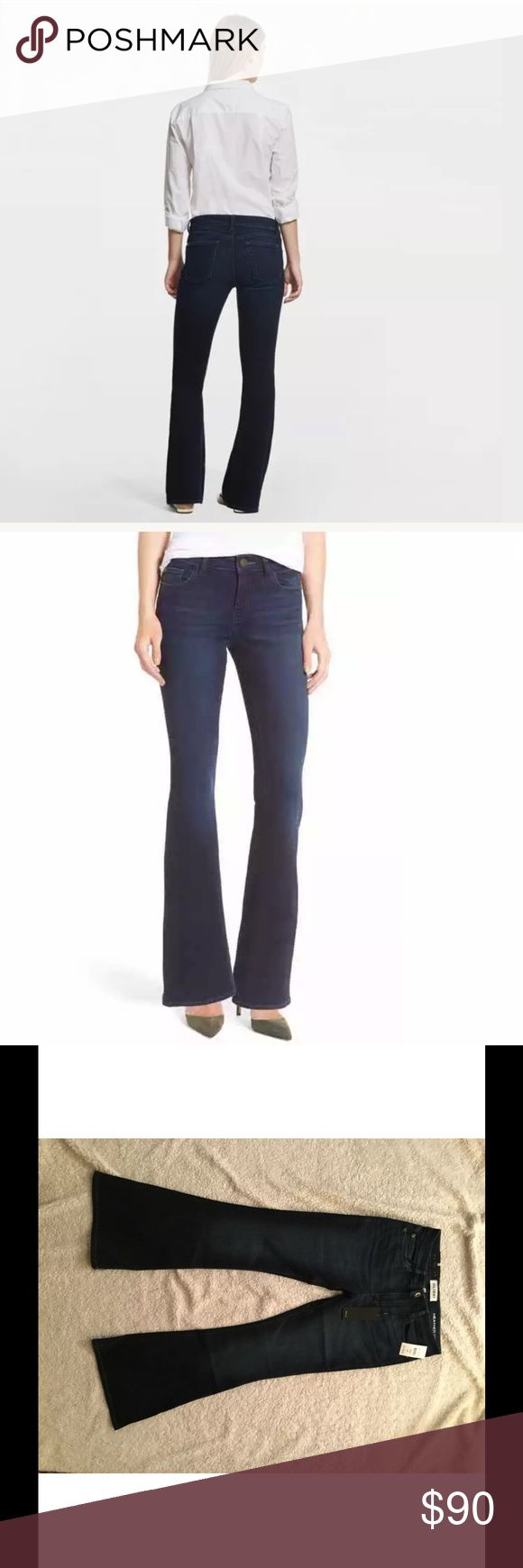 """NWT DL1961 Heather Petite Flare Jeans, Magnolia NWT DL1961 Heather Petite Flare Jeans, Magnolia Wash, Size 29, Retail $178 Specially proportioned to fit a petite frame, stretch-denim jeans are svelte through the hips and thighs before kicking out into an ultra-flattering flare silhouette. 30"""" inseam; 22"""" leg opening; 9 1/2"""" front rise  93% cotton, 6% elasterell-p, 1% elastane Machine wash cold, dry flat  Rise: 8.5"""" Waist: 16"""" Inseam: 28"""" Leg opening: 5""""  Pet and smoke-free home. DL1961 Jeans…"""