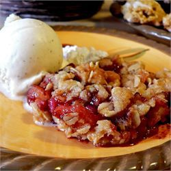 Brenda's Apple and Pomegranate Crisp - Allrecipes.com | tranquilty ...