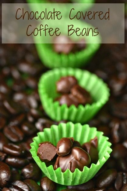 Chocolate covered coffee beans!  I'm making these!! I use to buy them at kroger and can't hardly find them anymore.