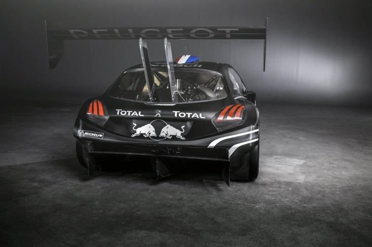 Peugeot 208 T16 - rear